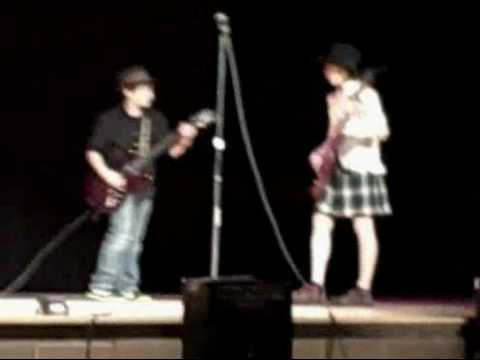 Man*Fuel Tunkhannock Middle School Talent Show AC/DC Back in Black Angelo Kyle Patrick