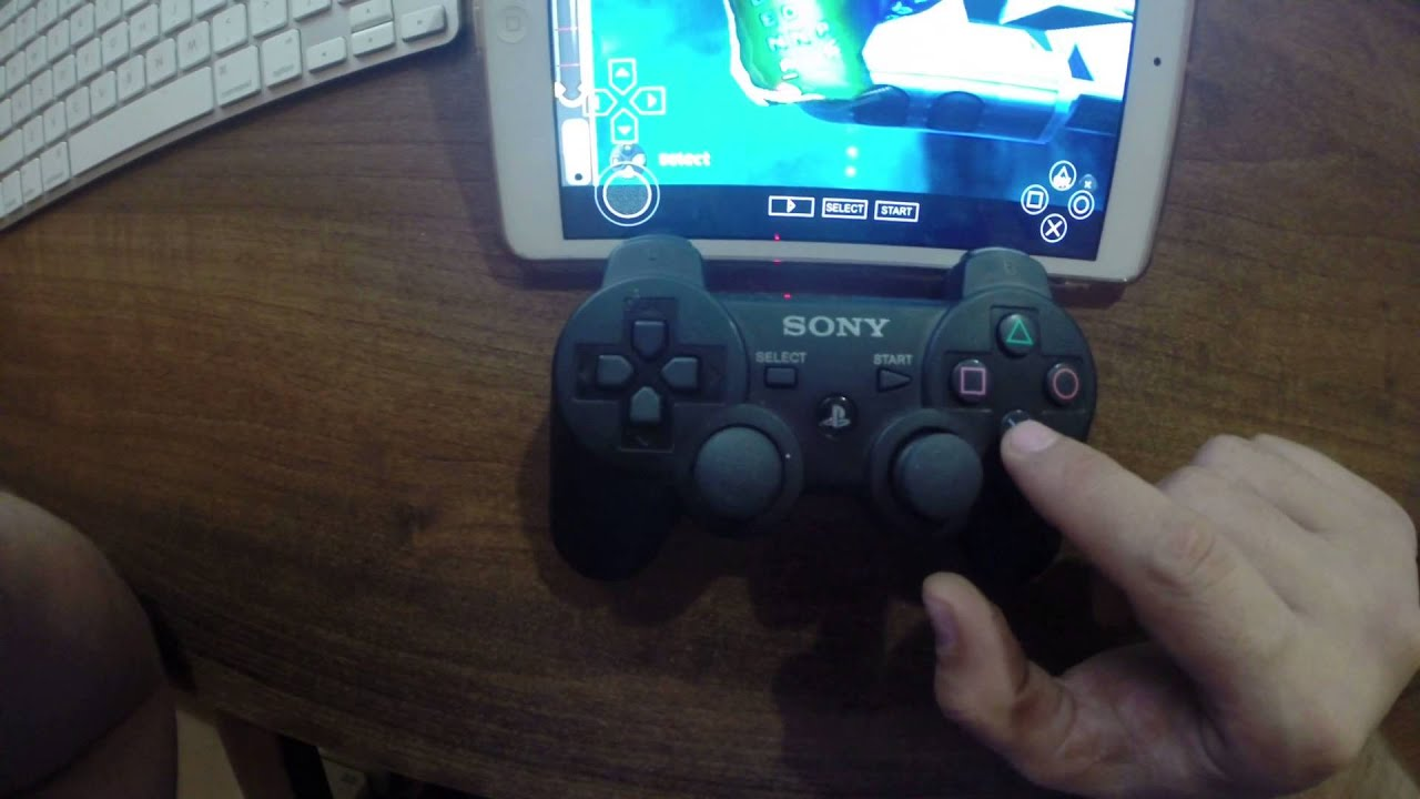 Ps3 controller on snes9x ipad