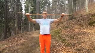 Trening mobilności ramion z kijem - Marek Purczyński