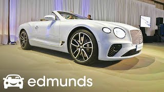 2019 Bentley Continental GT Convertible: Prestige for a Price | Edmunds