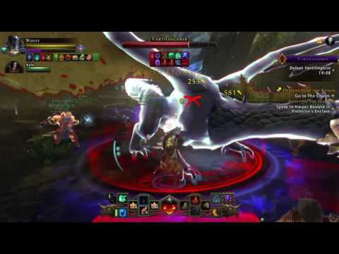 Neverwinter PS4 Vartilingorix fight with Paladin
