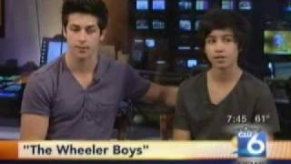 David Henrie and Lorenzo Henrie on Sango Morning Show
