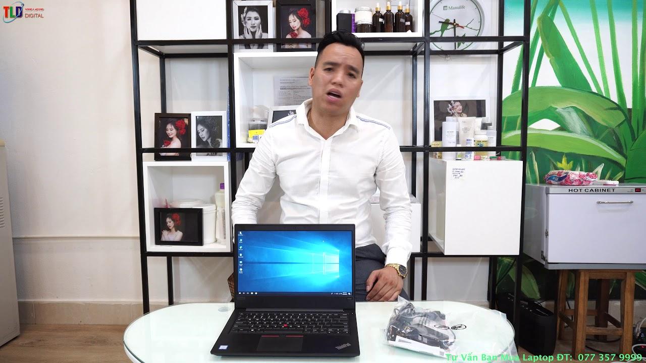 Trên Tay Sản Phẩm Lenovo Thinkpad E480 Độ Bền Trâu Phím Gõ Phê Đáng Mua Nhất 2018