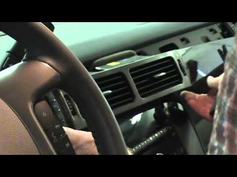 2009 GMC Sierra Instrument Cluster Removal Procedure by