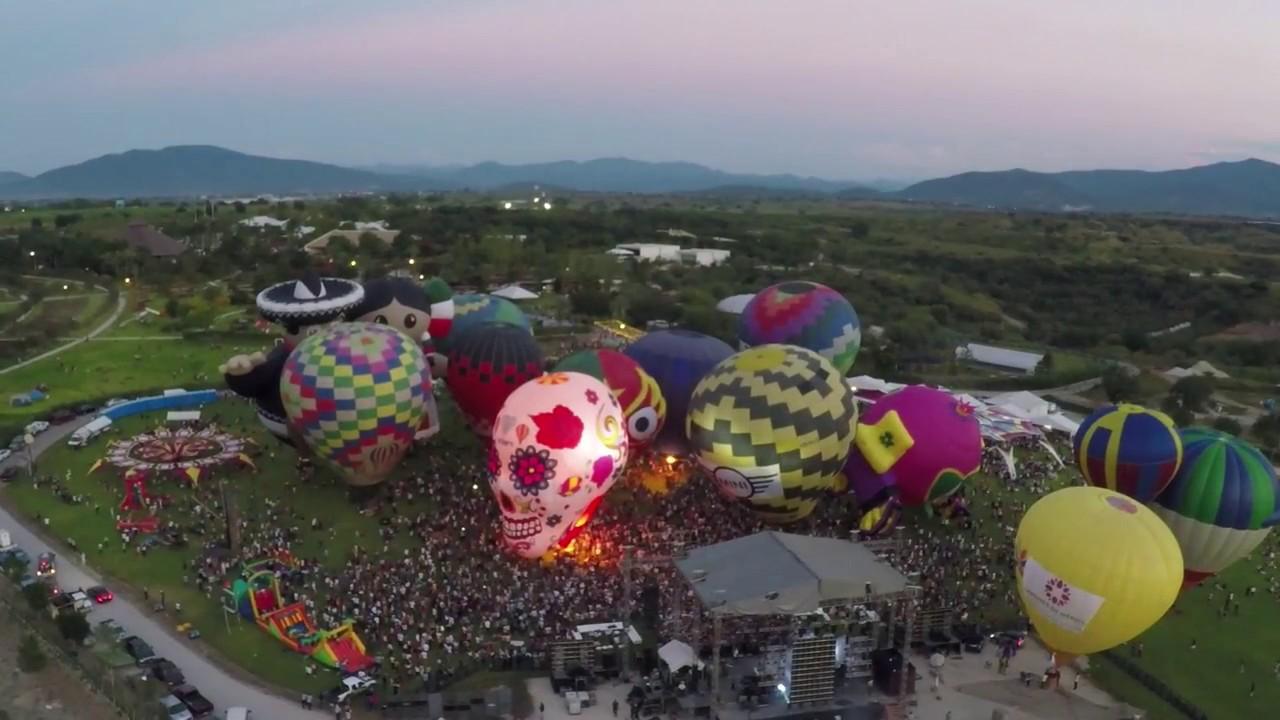Festival del globo jardines de m xico youtube for Jardines mexico