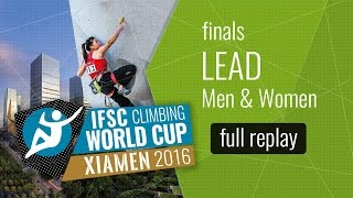 Watch the full replay of the Men and Women Lead Finals in Xiamen. A...