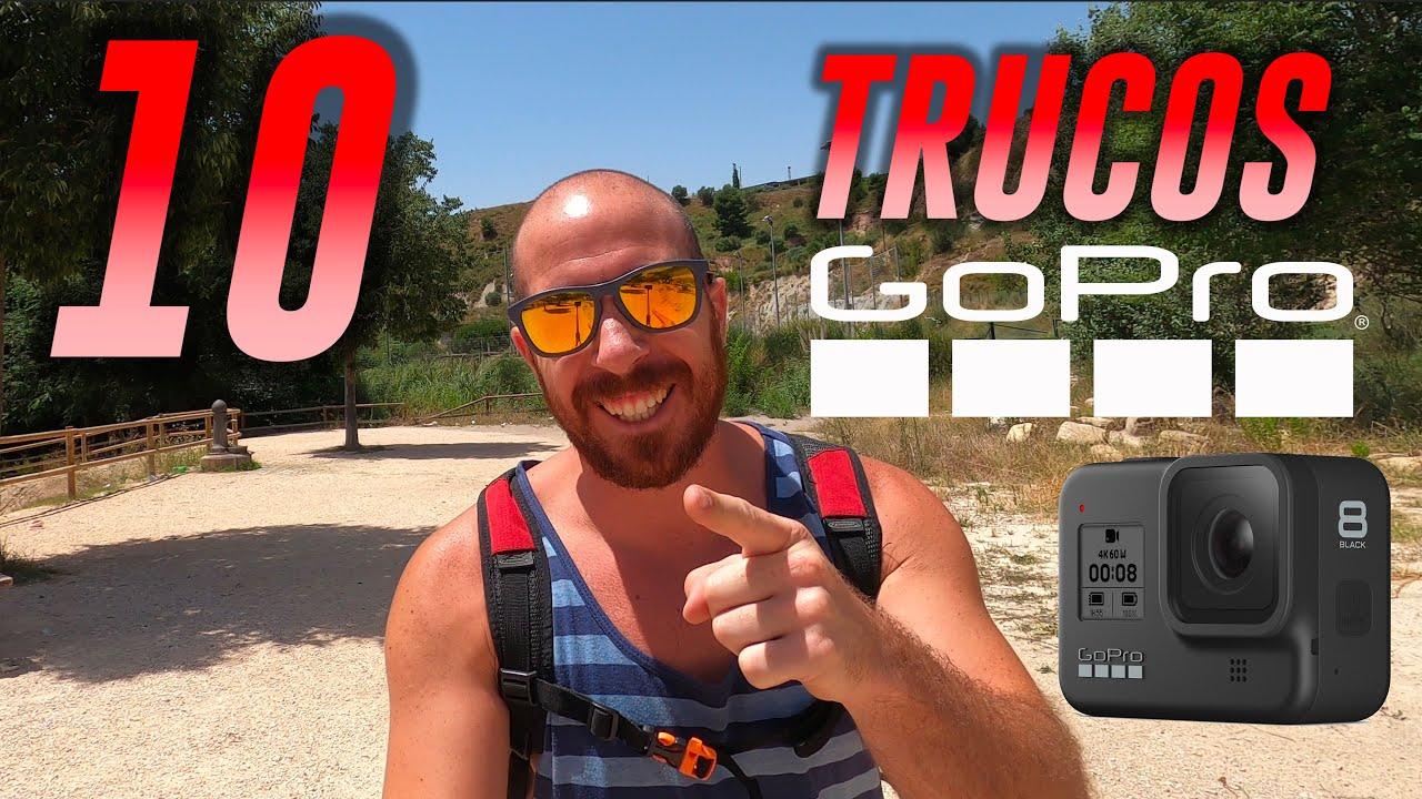 10 TRUCOS GOPRO para MEJORES VÍDEOS!!! (Hero 8 y más)