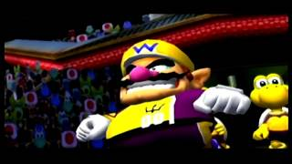super mario strikers waluigi vs wario
