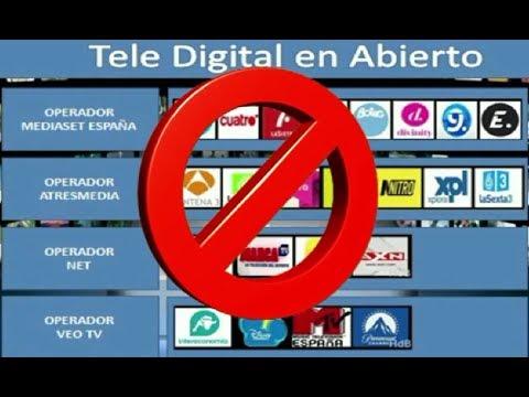 Cierran canales de Atresmedia y Mediaset, reestructura TV en España - 2014