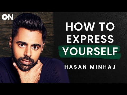 Hasan Minhaj: ON How To Strategically Express Yourself & Take Criticism Positively