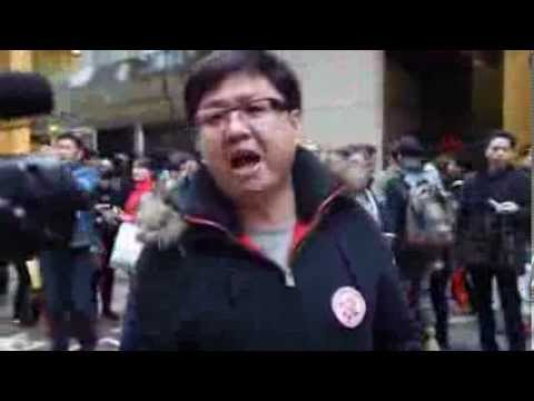 【施君龍辱罵驅蝗遊行人士】16-02-2014 - YouTube