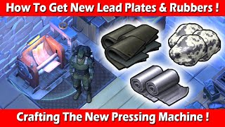 How To Get Lead Plates & Rubber (Crafting The Pressing Machine) ! Last Day On Earth Survival