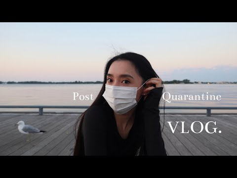 first-time-going-out-after-3-months-of-quarantine-in-toronto|-vlog