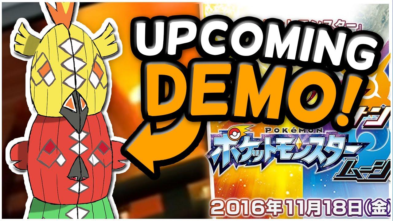 Upcoming Demo Gameplay Rumors Pok 233 Mon Sun And Moon Youtube