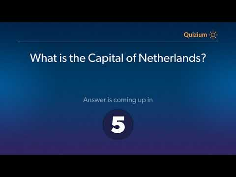 What is the Capital of Netherlands?   Netherlands Quiz