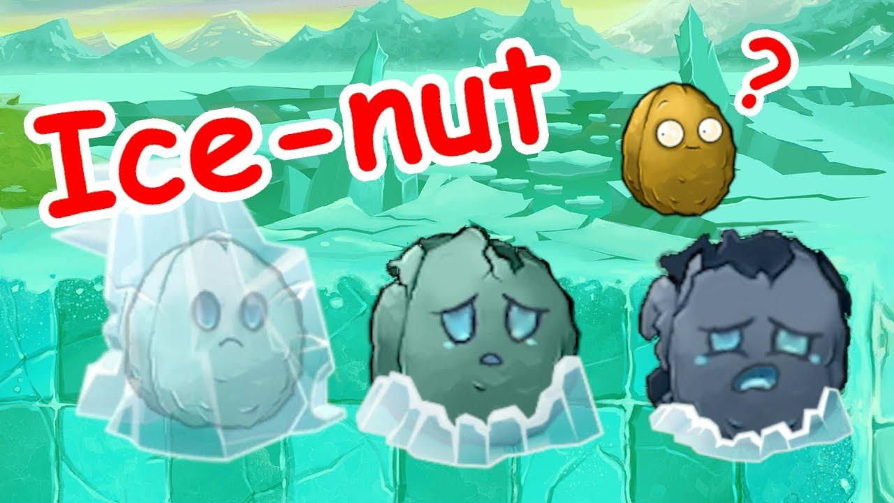 Ice-nut? well-nut? new pvz plant! pvz mod PVZ PLUS Plants vs zombies