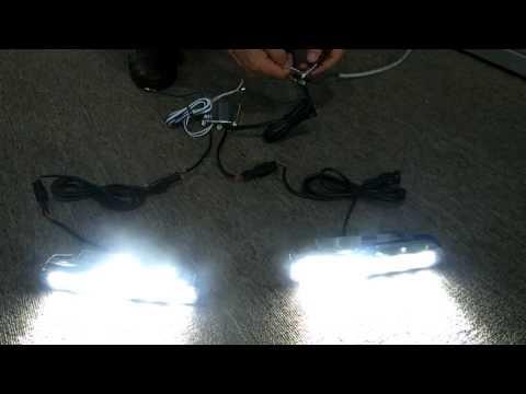 Тест и инсталация на DRL дневни светлини от Rudimpex.com