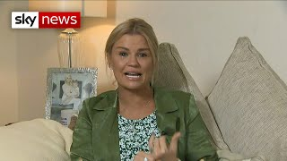 Kerry Katona breaks down talking about Caroline Flack