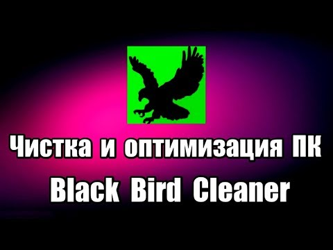 Программа для очистки и оптимизации компьютера Black Bird Cleaner