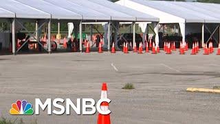 Trump Administration Surges Coronavirus Testing In Jacksonville Ahead Of RNC Convention | MSNBC