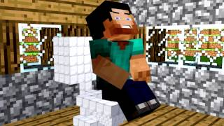 Minecraft Animation // Toilets Problems