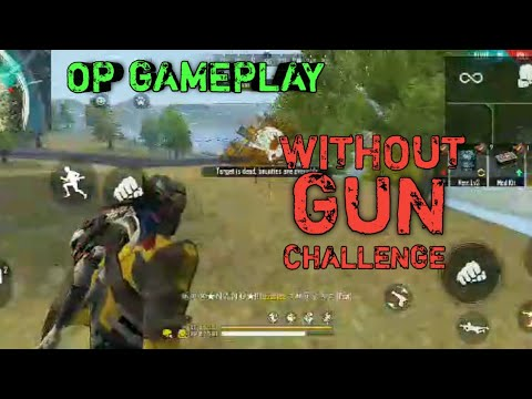 FREE FIRE    WITHOUT GUN CHALLENGE    BY ⓃⒽⓀ★N A N U★!! AND RAJAT    PTG ARMY    BEST GAMELAY