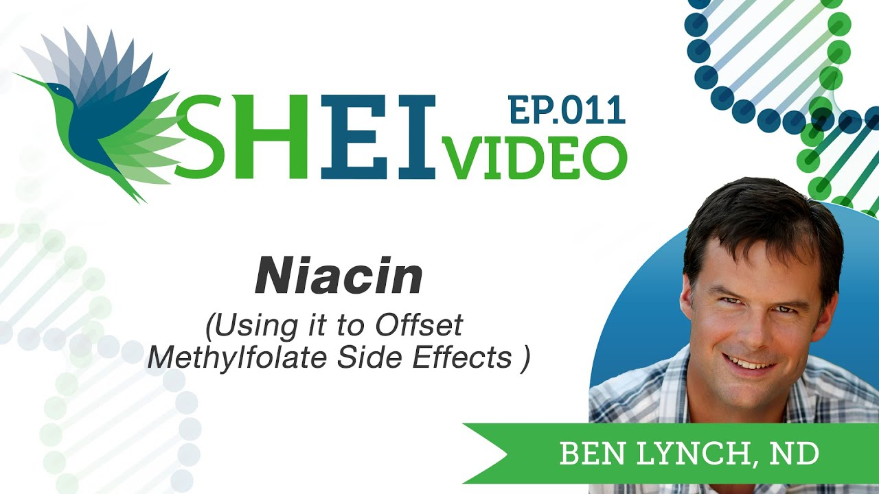 Using Niacin for Methylfolate Side Effects