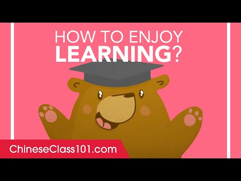 How to Enjoy Learning Chinese