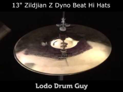 """SOLD OUT 13"""" Zildjian Z DYNO BEAT Hi Hats"""