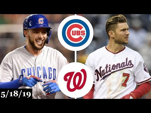 Chicago Cubs vs Washington Nationals - Full Game Highlights | May 18, 2019 | 2019 MLB Season