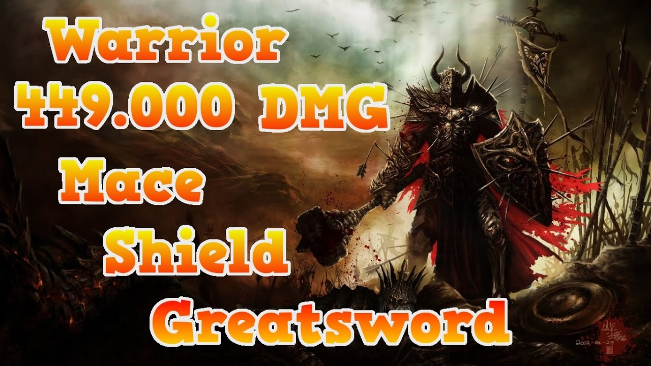 Guild Wars  Warrior Build Greatsword