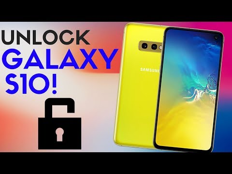 How to Unlock Samsung Galaxy S10 Plus / S10 / S10e!