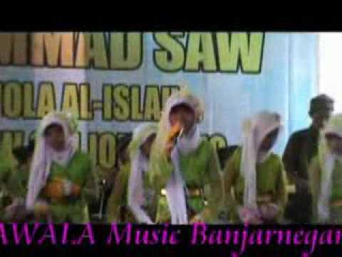 Qasidah family group jomblang punya judul lagu kaya miskin tiada beda vokal sifa