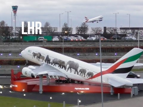 Plane Spotting *Late Afternoon Takeoffs* at London Heathrow Airport  Inc. VS /B744, NZ/B77W..✈️🛫✈️🛫