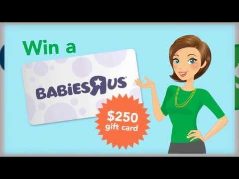$250 Babies R Us Gift Card - FREE!