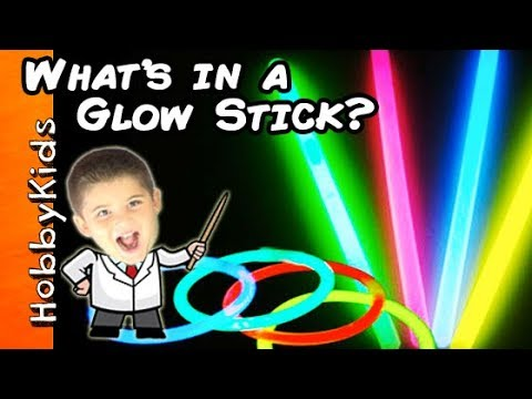 What's In a GLOW STICK? Surprise Toys + HobbyScience Party Fun By HobbyKidsTV