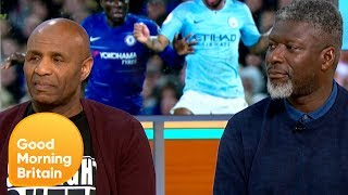 Raheem Stirling Calls for Harsher Punishments to Tackle Racism in Football | Good Morning Britain