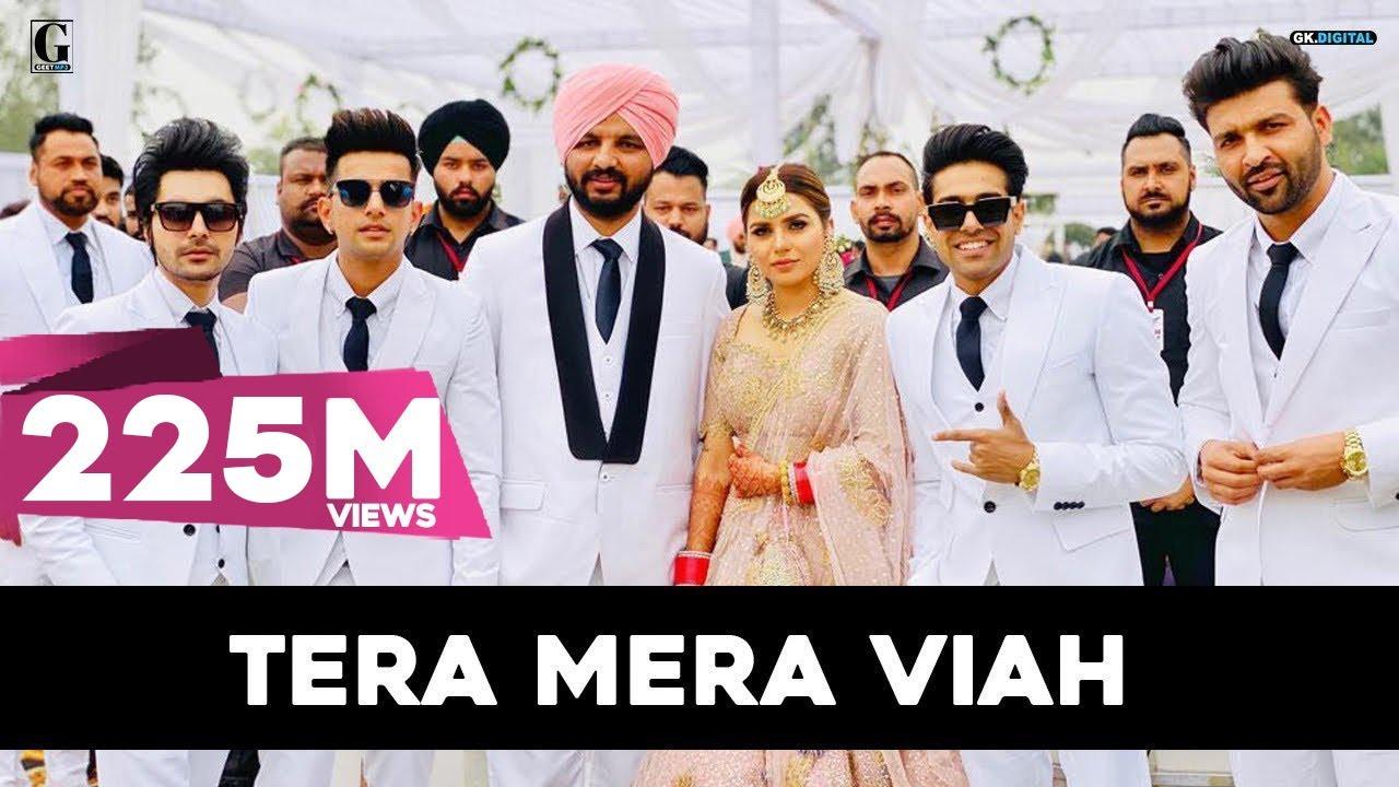 Tera Mera Viah : Jass Manak | KV Dhillon Marriage | Davy