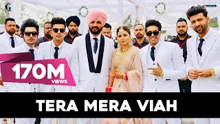 Tera Mera Viah : Jass Manak | KV Dhillon Marriage | Davy | Wedding Video