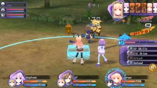 Hyperdimension Neptunia Re;Birth1 Gameplay Version 2