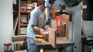 #42.3 - Laguna Lt-18 Italian-made Bandsaw - Part 3 - Driftmaster And Resaw Demos