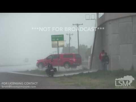 7-31-17, Amarillo TX, Heavy Rain