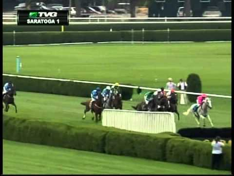 """Here Comes Art"" Wins at Saratoga"