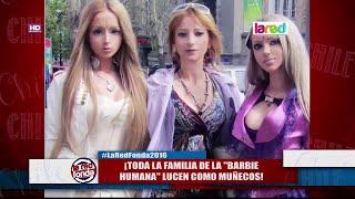 """Así luce la impactante familia de la """"barbie humana"""""""