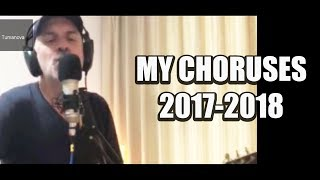 My choruses of 2017-18 compilation