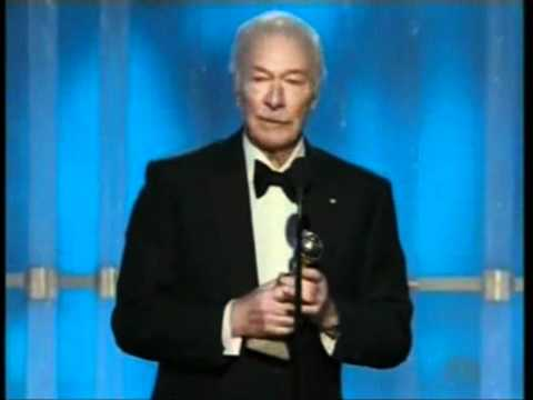 Christopher Plummer win Best Supporting Actor - Golden Globes 2012