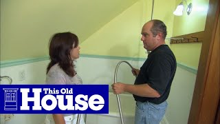 How to Add a Shower to a Claw-Foot Tub | This Old House