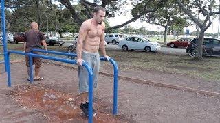 Basic Bar Body Weight Workout Calisthenics (10+ Exercises)