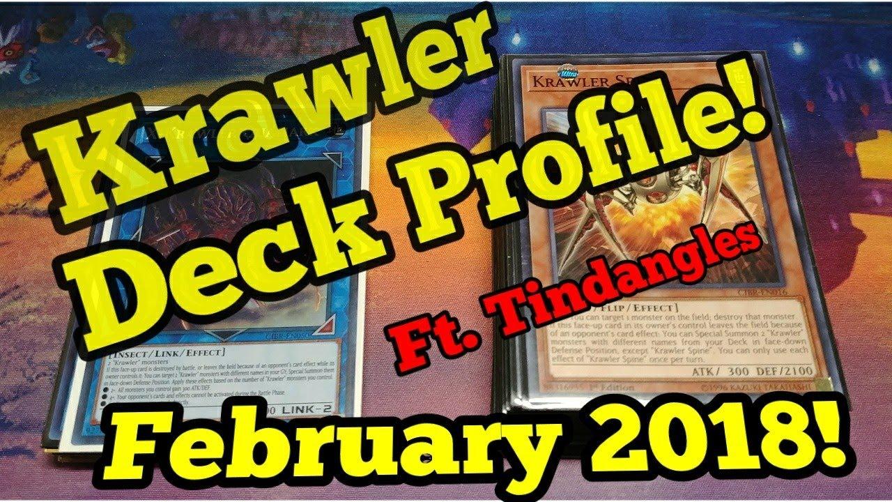 Krawler Deck Profile Ft Tindangles Feb 2018 Duel Amino