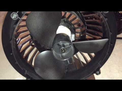Oiling the Vornado 160 Fan
